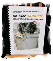 Klassieke  massage Rug Schouder Nek  32 pagina's