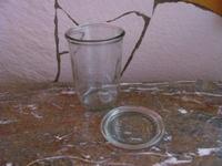 Weckpot of voorraadpot met deksel WE0113 per stuk  750 ml