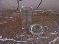 Weckpot of voorraadpot met deksel WE0124  160 ml