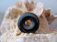 Onyx Donut edelsteen E0123  Per stuk