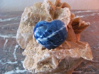 Sodaliet Hart (BOL) edelsteen  E0115 nr.5  4 x 5 cm