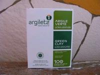 Argiletz klei super fijn groen (inwendige reiniging)AKI  300 gram