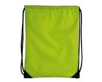 Herbruikbare tas ook te gebruiken als rugzak met koord  34 x 45,5 cm