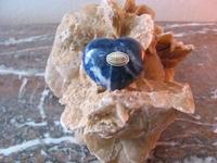 Sodaliet Hart (BOL) edelsteen nr.6  4 x 5 cm