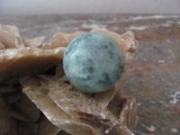 Jade edelsteen E0193  35 mm