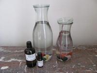 Gezondheid uit een fles diverse edelstenen(P)E0219