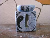 Oliebrander geurlamp Feng Shui aardewerk  per stuk