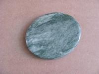 Jade edelsteen groot | plat | per stuk Jade13