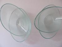 Glazen schaaltje  per stuk DV0110  11 x 7 cm