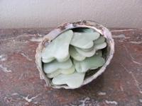 Jade schraper voor gezicht lichaam, hoofd handen en voeten  7 x 4 cm