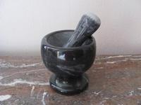 Vijzel gemaakt van massief marmer V2  Per stuk