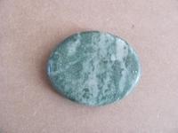 Jade edelsteen middel   plat   per stuk Jade5
