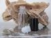 Roll-on leeg (wit glas met zwarte dop)kan nagevuld worden 10 ml