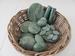 Jade Complete edelsteen set gewicht 4.9 kilo zonder mand 20 delig