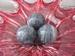 Marmer/Sardonyx half edelsteen gemeleerd donker grijsE0197 50-60 mm