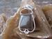 Nr. 20 Jaspis bruin edelsteen   met zilveren hanger