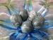 Prachtige Jade ei te gebruiken als afsluiting 5 cm
